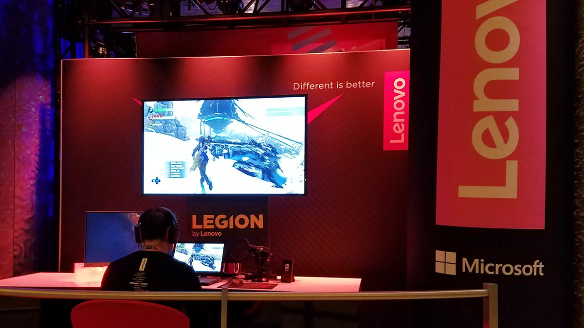Image: Legion by Lenovo at CES